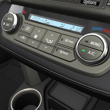 Ar condicionado automático bi-zona