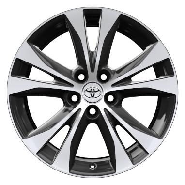 18'' machined-face alloy wheels (5-double spoke)