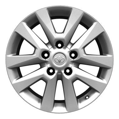 """20"""" alloy wheels (10-spoke)"""