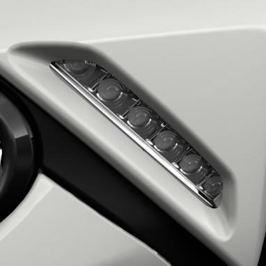 Światła do jazdy dziennej typu LED