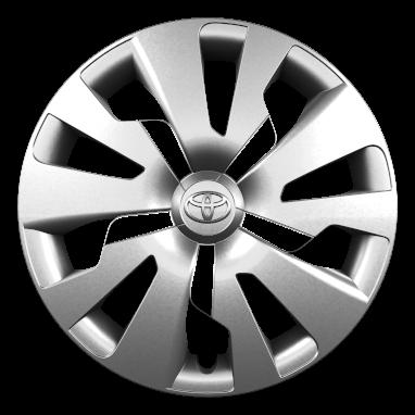 """15"""" steel wheels with wheel caps (10-spoke)"""
