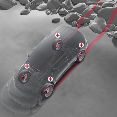 Multi-Terrain Anti-lock Braking System (ABS)