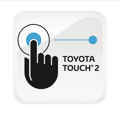 "Sistema multimediale Toyota Touch 2 (""iPod® Ready"", display da 6,1"", 6 altoparlanti, CD, Bluetooth®, Aux-in e USB)"