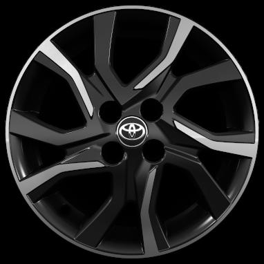 """16"""" machined-face alloy wheels (5 double-spoke)"""
