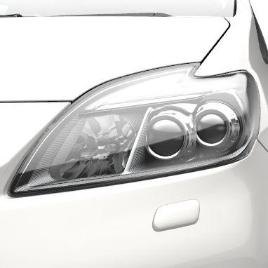 LED-Frontscheinwerfer (mit automatischer Höheneinstellung) und Scheinwerfer-Waschanlage